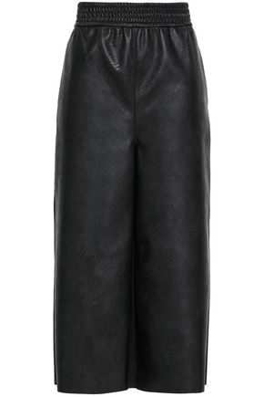 STELLA McCARTNEY Faux leather culottes