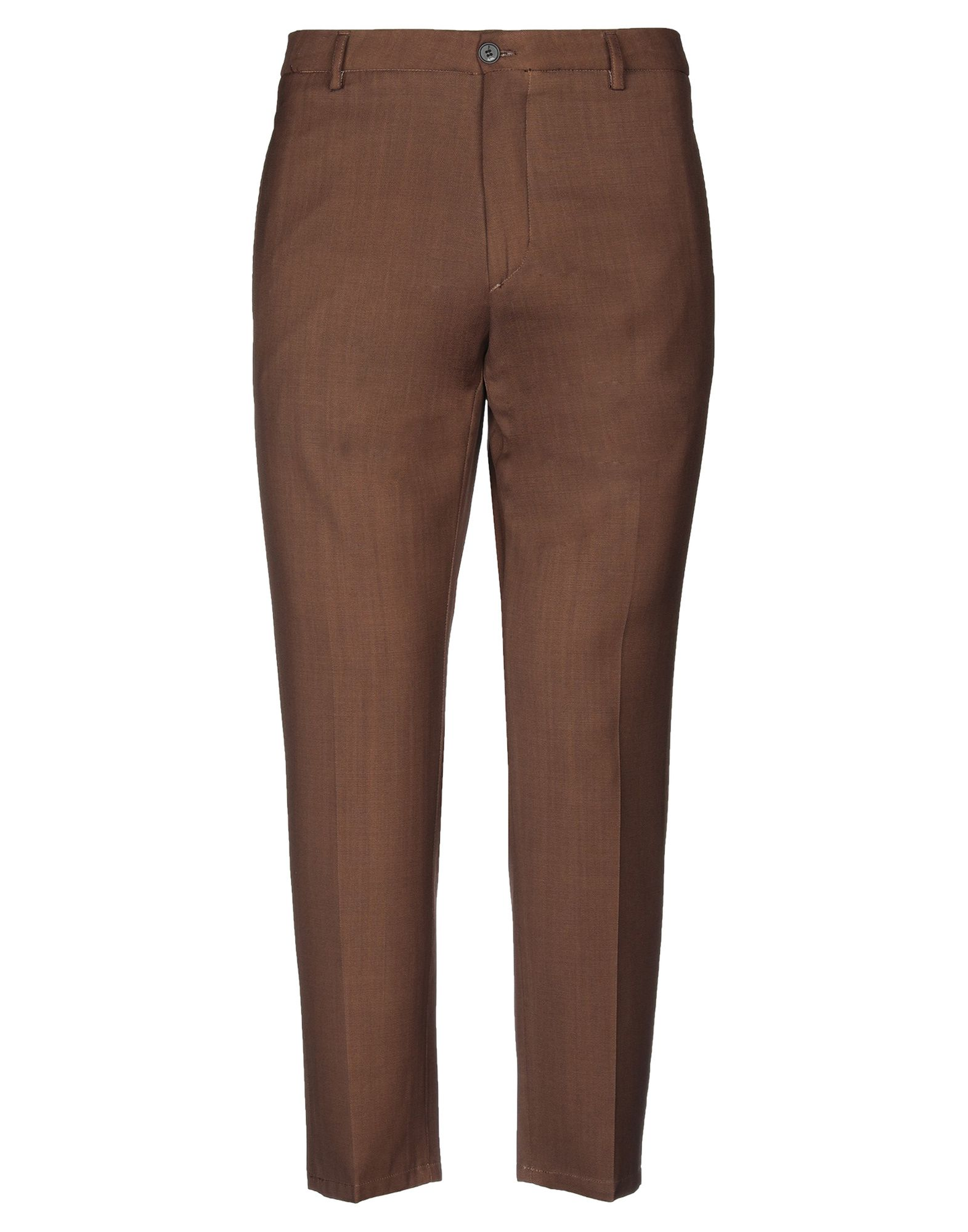 《セール開催中》BE ABLE メンズ パンツ ブラウン 34 バージンウール 100%