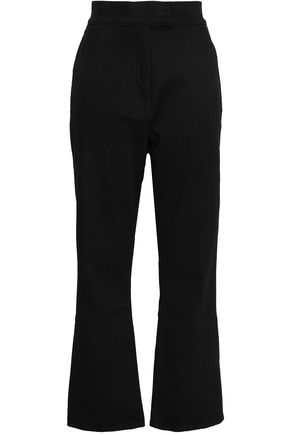 ROCKINS Stretch-cotton straight-leg pants