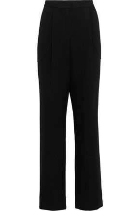 DEREK LAM 10 CROSBY Wool-blend wide-leg pants