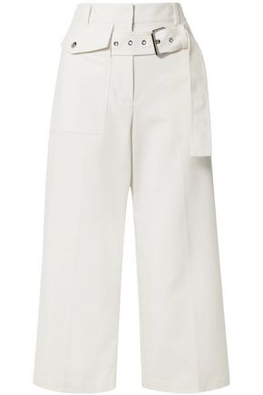 3.1 PHILLIP LIM Cropped cotton-blend wide-leg pants