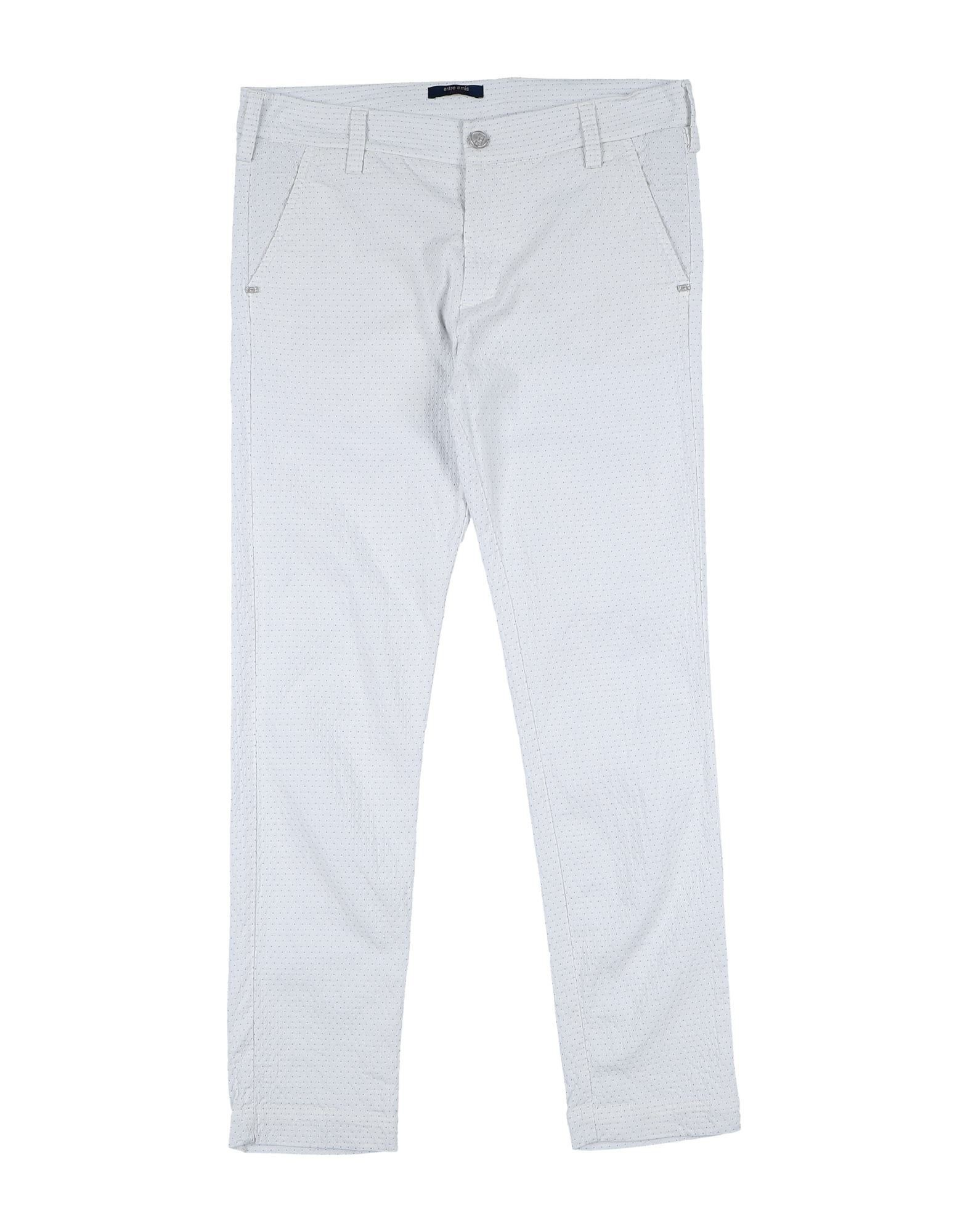 Entre Amis Garçon Kids' Casual Pants In White