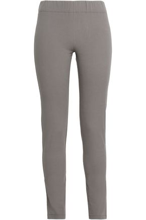 JOSEPH Stretch-cotton twill leggings