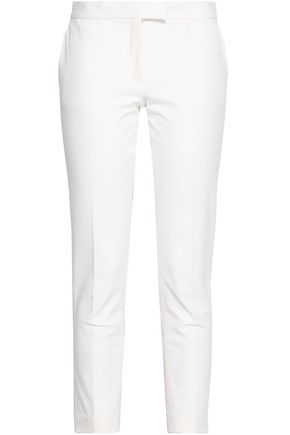 JOSEPH Finley cropped stretch-twill slim-leg pants