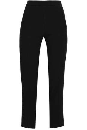 AMANDA WAKELEY Stretch-crepe tapered pants