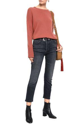 MOTHER High-rise slim-leg jeans