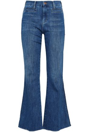 M.I.H JEANS High-rise denim flared jeans