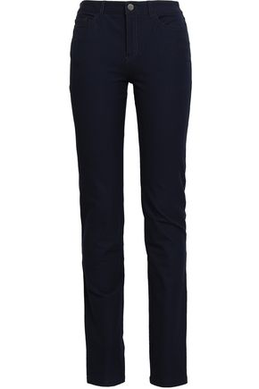 JOSEPH Stretch-gabardine straight-leg pants
