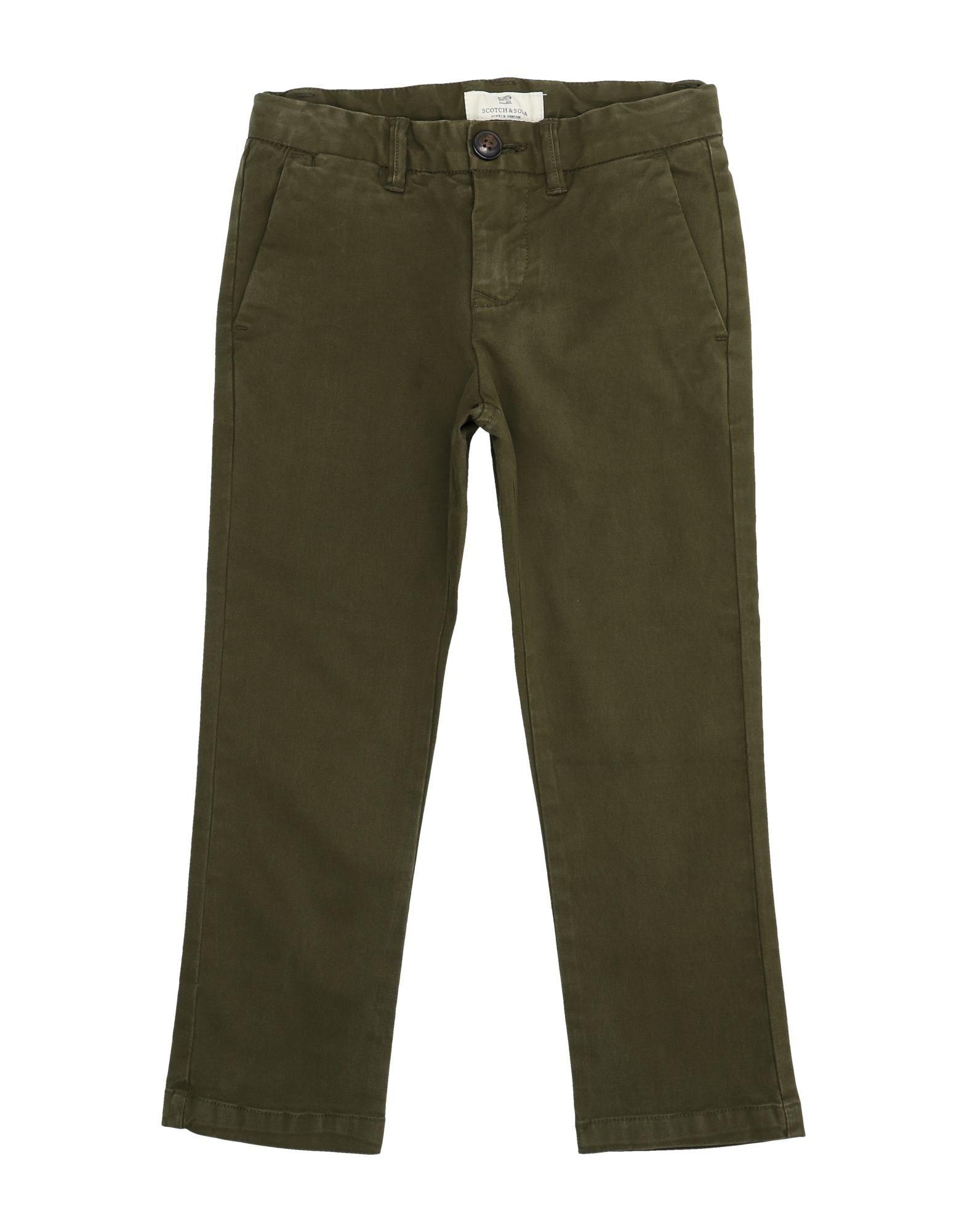 Scotch & Shrunk Kids' Casual Pants In Brown