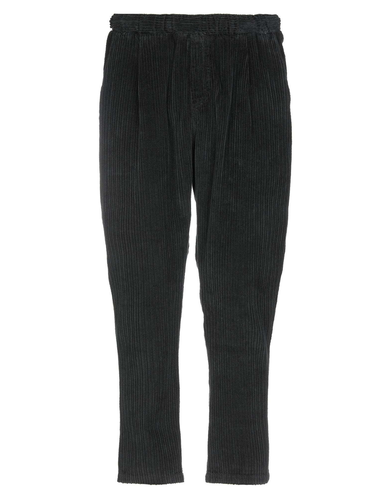 《送料無料》THE KINGLESS COLLECTIVE メンズ パンツ ブラック L 100% コットン