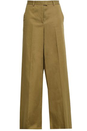 REDValentino Stretch-gabardine wide-leg pants