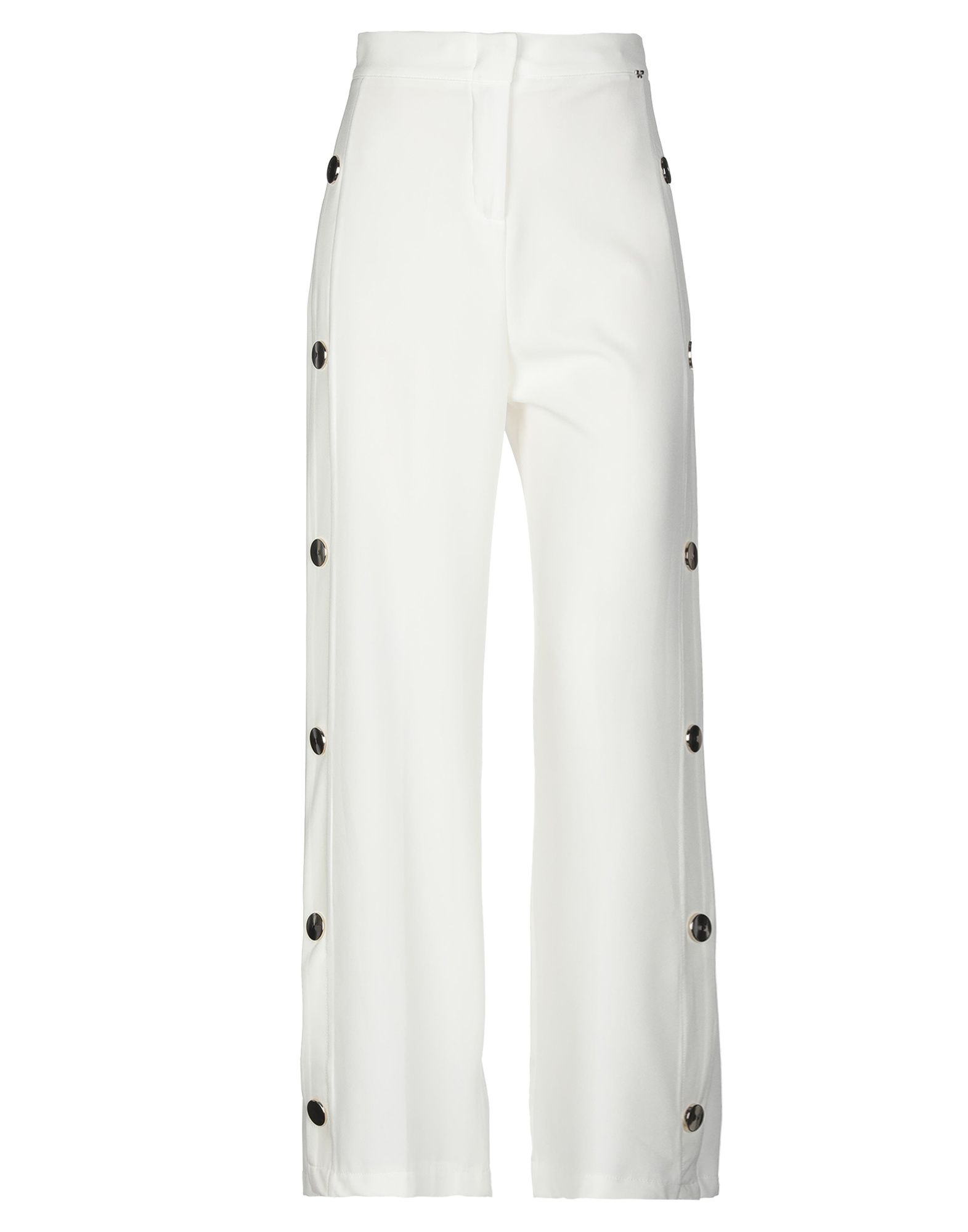 IMPERIAL Повседневные брюки брюки широкие из саржи стрейч