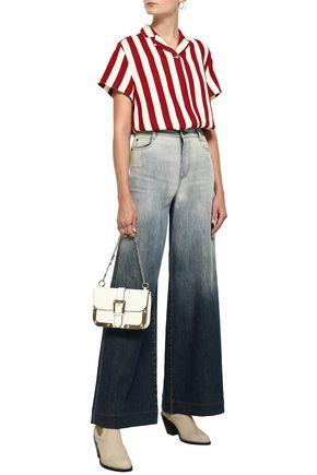 REDValentino Dégradé high-rise wide-leg jeans