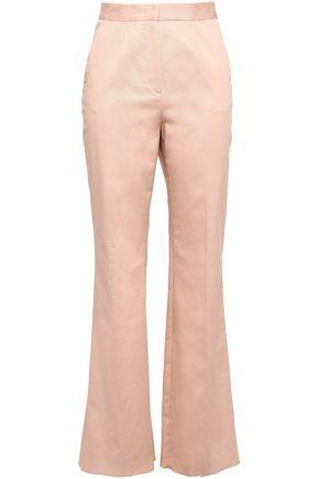 REDValentino Stretch-cotton twill flared pants