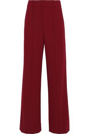 ALICE + OLIVIA Paula pleated crepe wide-leg pants
