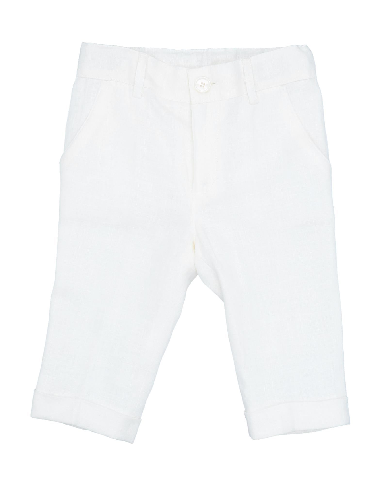 Baby A. Kids' Casual Pants In White