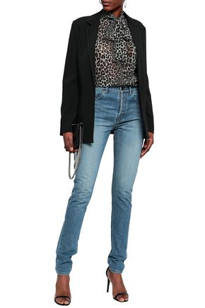 9026bd3f062 High-rise skinny jeans | SAINT LAURENT | Sale up to 70% off | THE OUTNET