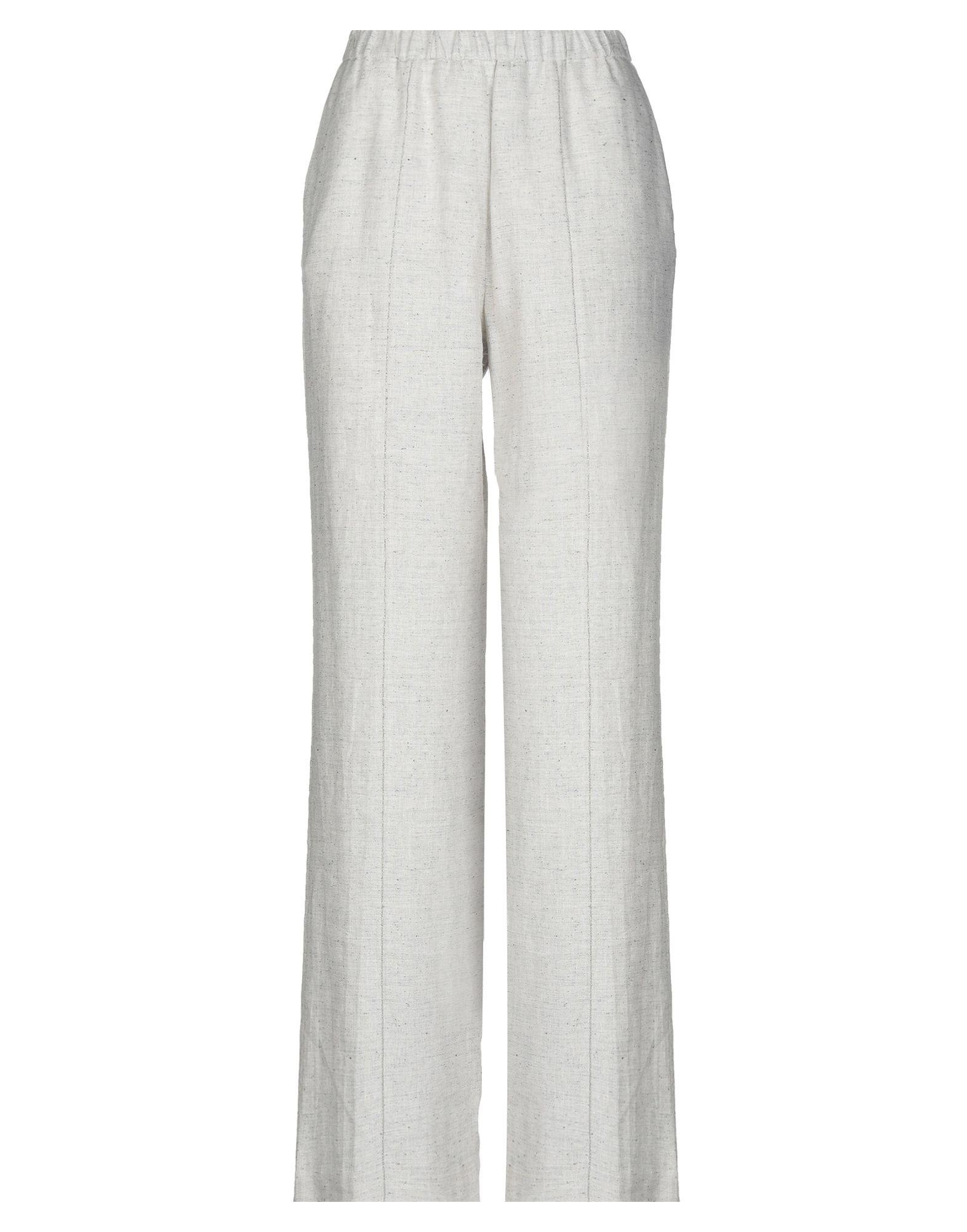 FABIANA FILIPPI Повседневные брюки брюки широкие из однотонного жаккарда