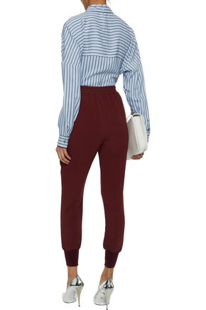 STELLA McCARTNEY Stretch-crepe tapered pants