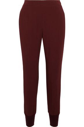 STELLA McCARTNEY Stretch-crepe tapered pants