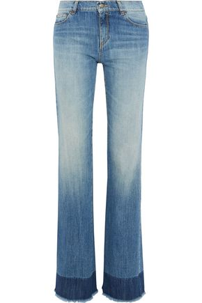 REDValentino Faded mid-rise straight-leg jeans
