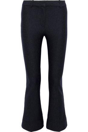 DEREK LAM 10 CROSBY Wool-blend bootcut pants