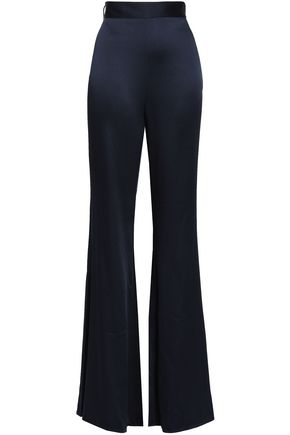 PETER PILOTTO Satin-crepe flared pants