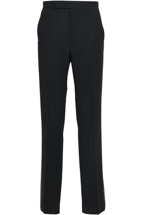 HELMUT LANG Stretch-wool twill straight-leg pants