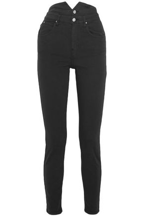 ISABEL MARANT ÉTOILE Earley high-rise slim-leg jeans