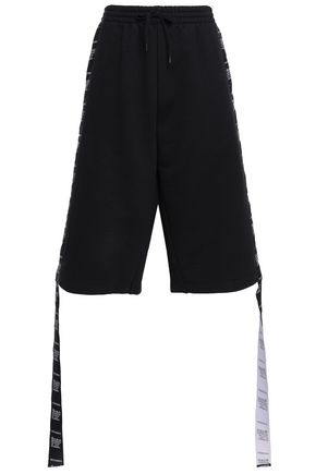 VETEMENTS French cotton-blend terry shorts