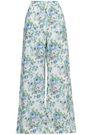 ZIMMERMANN Floral-print linen wide-leg pants
