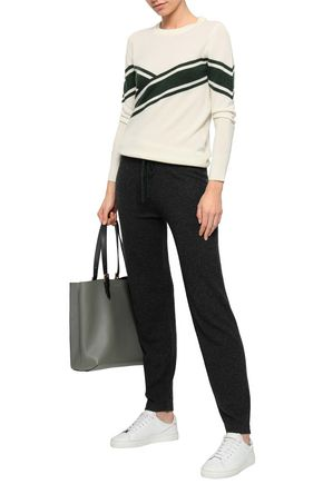 MADELEINE THOMPSON Wool and cashmere-blend tapered pants