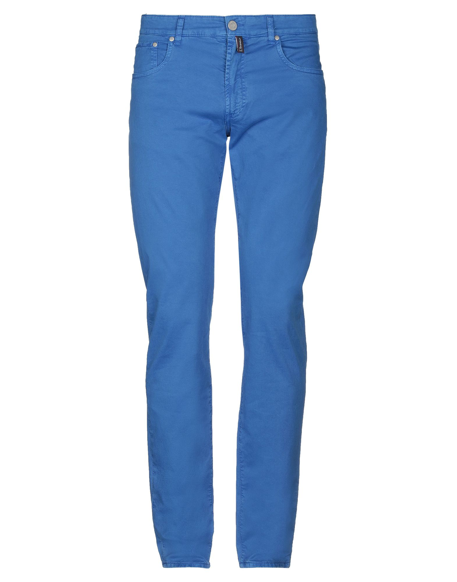 《期間限定 セール開催中》E.MARINELLA メンズ パンツ ブルー 31 コットン 98% / ポリウレタン 2%