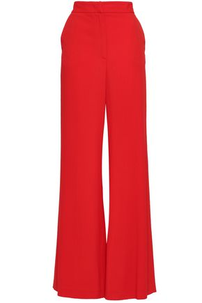 MSGM Crepe wide-leg pants