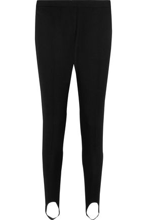STELLA McCARTNEY Wool-twill slim-leg stirrup pants