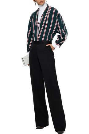 STELLA McCARTNEY Wool straight-leg pants