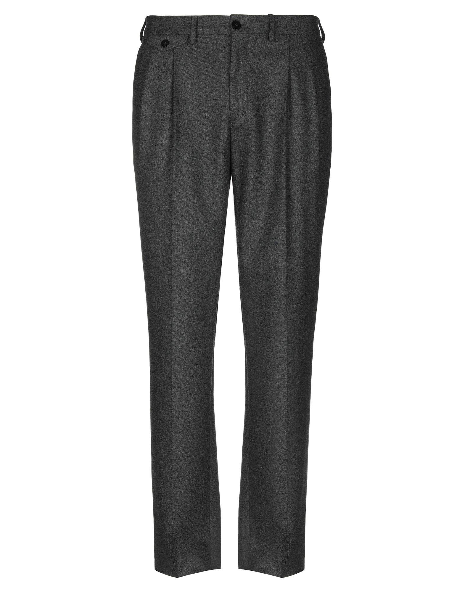 《期間限定セール中》LA PAZ メンズ パンツ スチールグレー S ウール 70% / ポリエステル 30%
