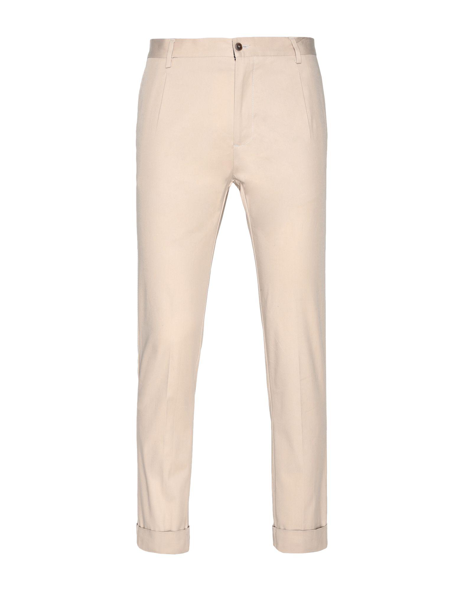 8 by YOOX Повседневные брюки брюки дудочки 7 8 из хлопкового сатина
