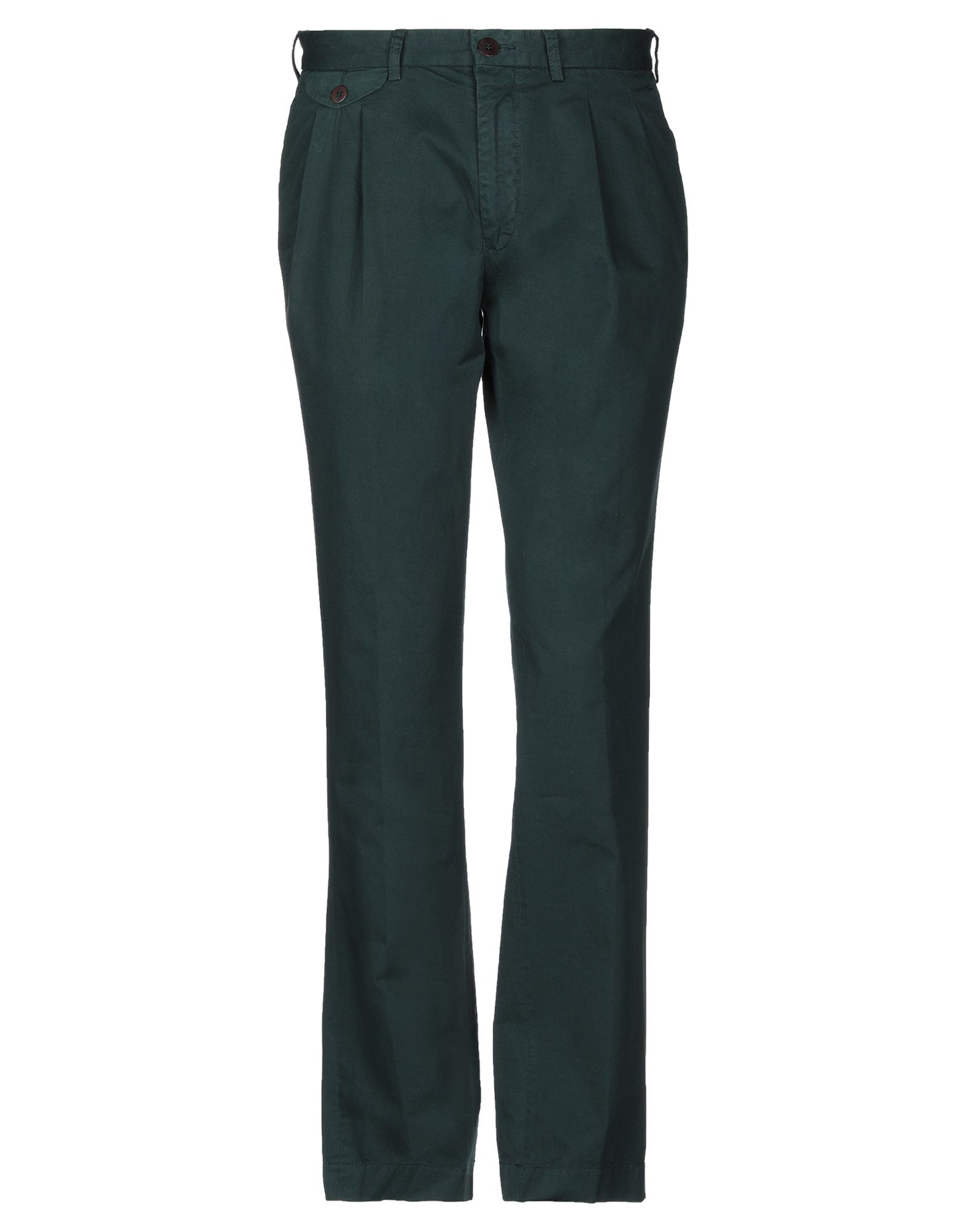 《期間限定セール中》LA PAZ メンズ パンツ ダークグリーン S コットン 100%