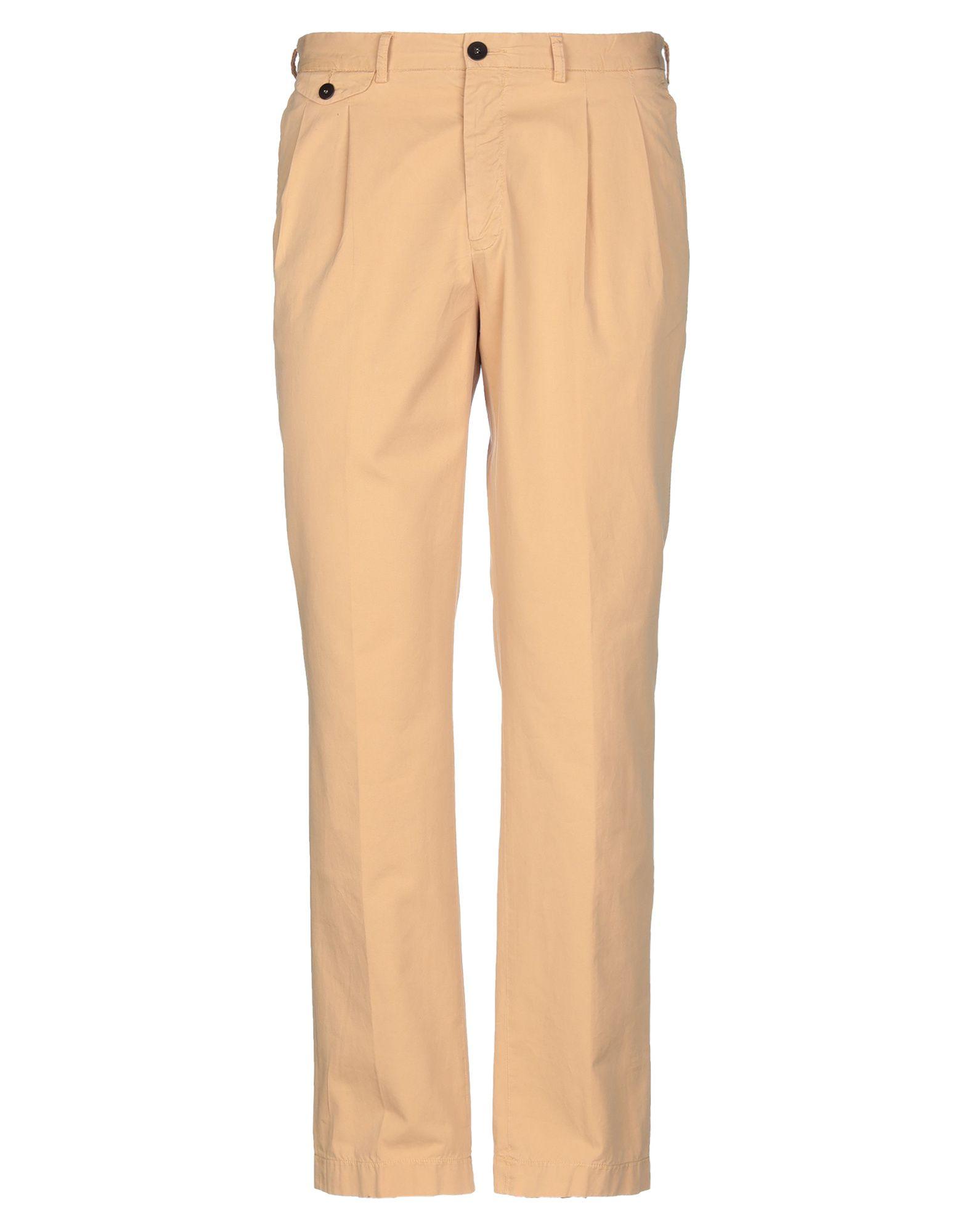 《期間限定セール中》LA PAZ メンズ パンツ サンド L コットン 100%