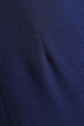 EMILIA WICKSTEAD Cropped wool-crepe slim-leg pants