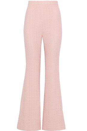 BALMAIN Tweed flared pants