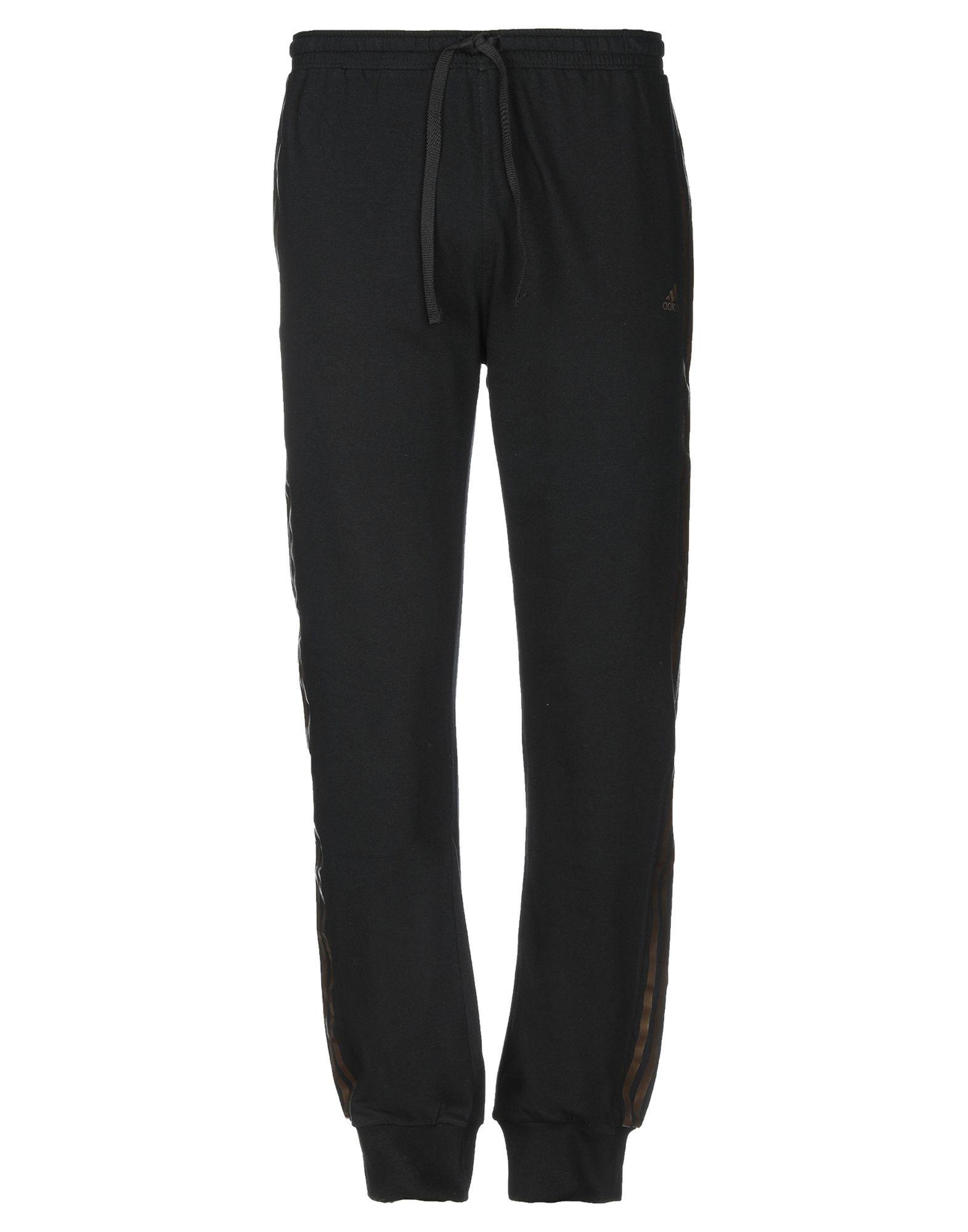 《送料無料》ADIDAS メンズ パンツ ブラック 6 コットン 100%