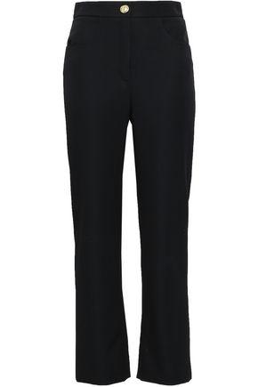 BALMAIN Wool straight-leg pants