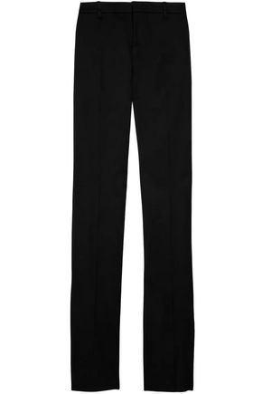 GUCCI Wool-blend twill straight-leg pants