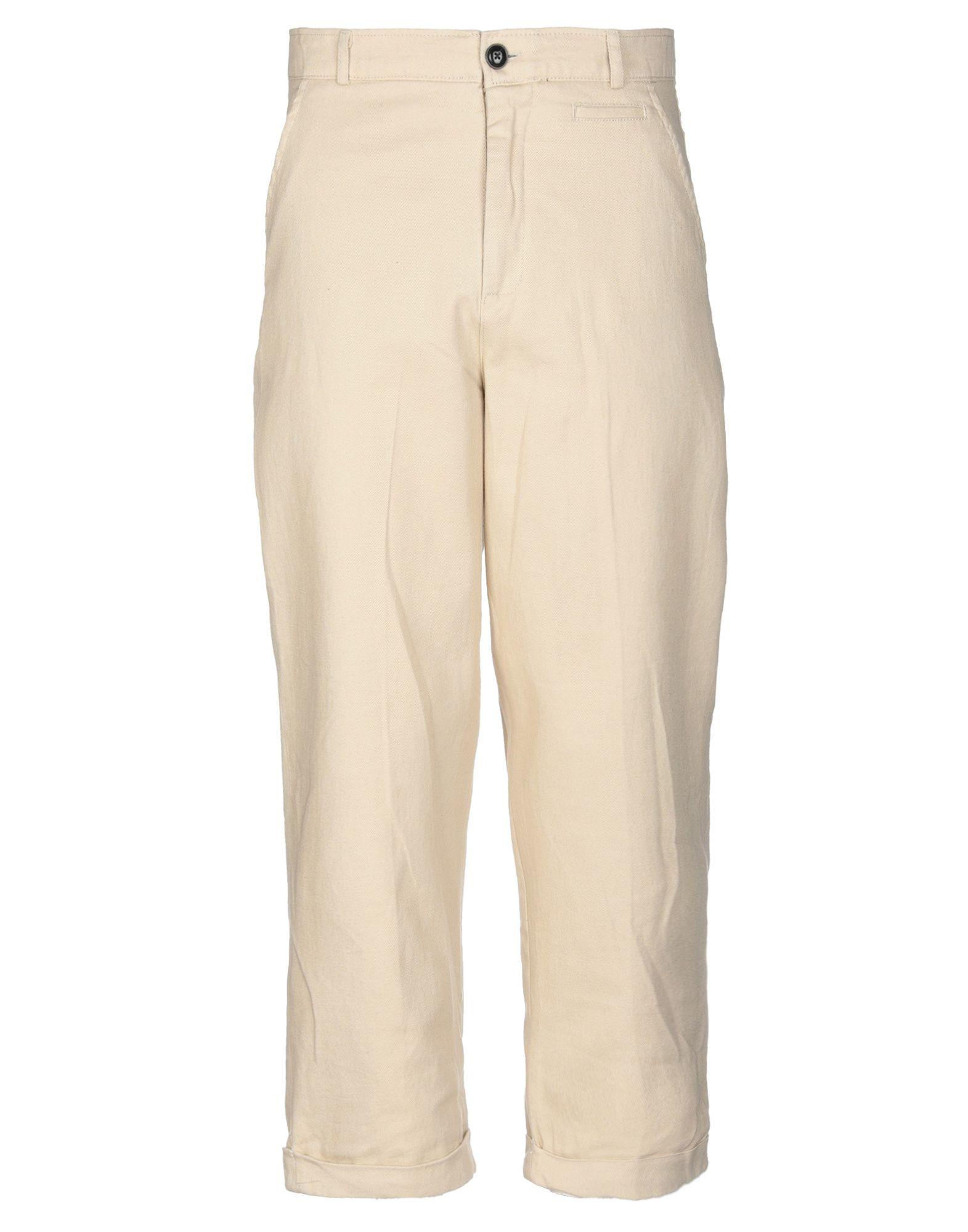 《送料無料》SUIT メンズ パンツ ベージュ M コットン 100%