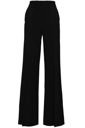 MSGM Stretch-crepe wide-leg pants