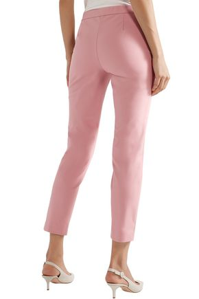 THEORY Thaniel Approach cotton-blend slim-leg pants