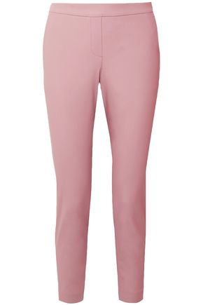 THEORY Thaniel Approach cotton-blend slim-leg pants