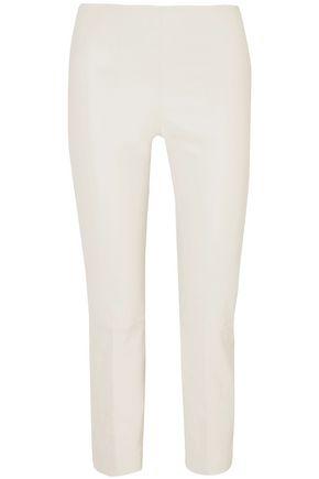 BY MALENE BIRGER Leather slim-leg pants